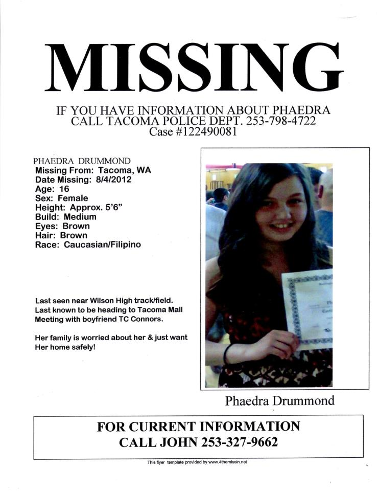 Missing Person Poster Generator