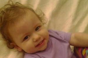 My niece, Anya. John and Char's youngest.